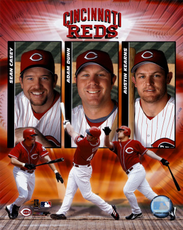 "2004 Reds ""Big 3"" ©Photofile"