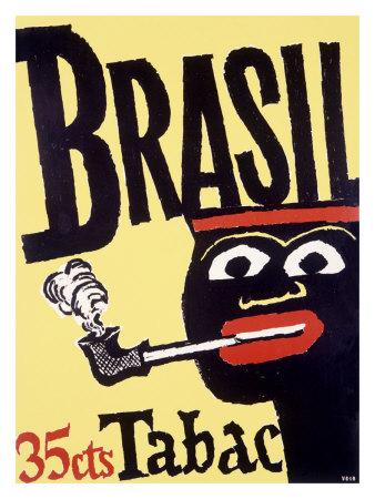 Brazil Pipe Tobacco - Giclee Print