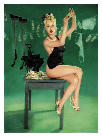 Pin-Up Girl: The Counterfeit