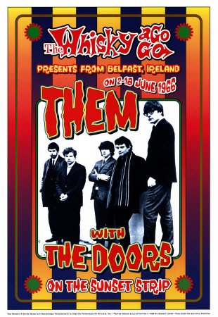 Them with the Doors at the Whiskey A-Go-Go