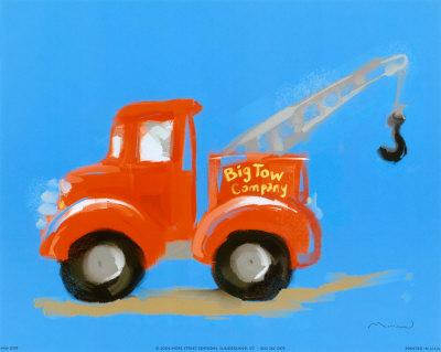 Big Tow Company - Art Print