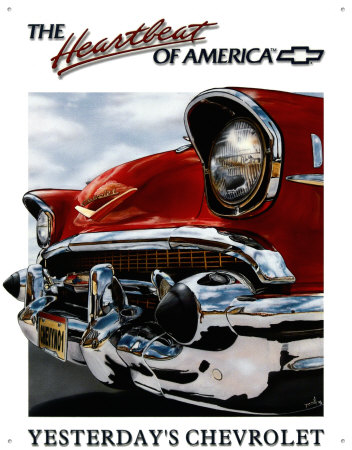 Buy Chevy Heartbeat at AllPosters.com