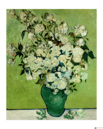 Bouquet de roses - Van Gogh