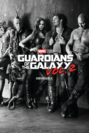 Guardians of the Galaxy: Vol. 2 - Gamora, Drax, the Milano, Star-Lord, Rocket Raccoon, Groot Poster