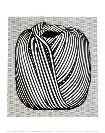 Ball of Twine, 1963 - Art Print
