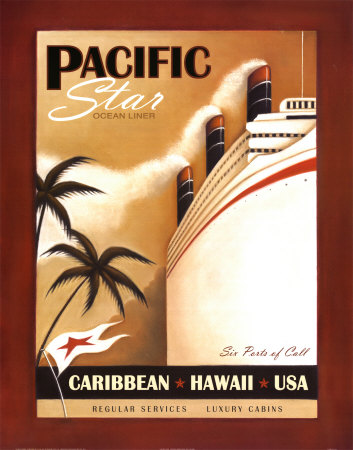Pacific Star Art Print