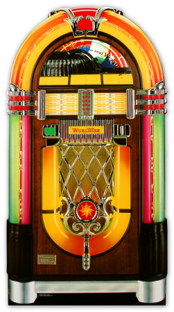 Wurlitzer Jukebox Lifesize Standup Poster