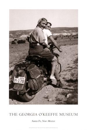 O'Keeffe Hitching a Ride Art Print