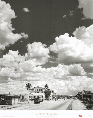 Route 66, Arizona, 1947