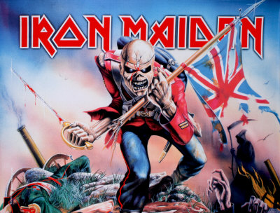 Poster Iron Maiden -trooper..