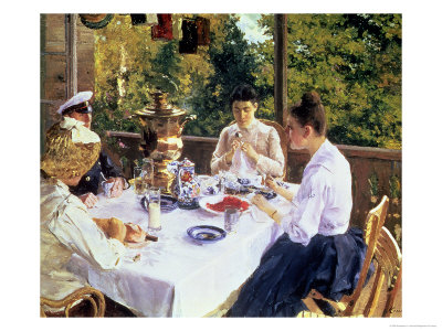 At the Tea-Table, 1888