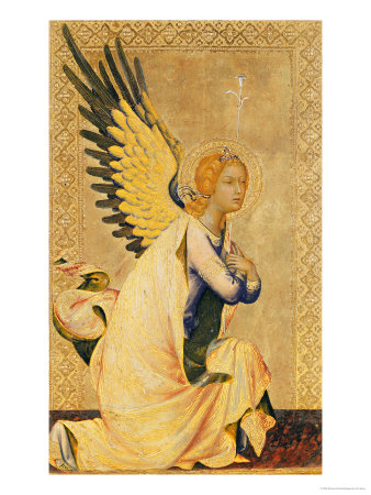Angel Gabriel Simone Martini