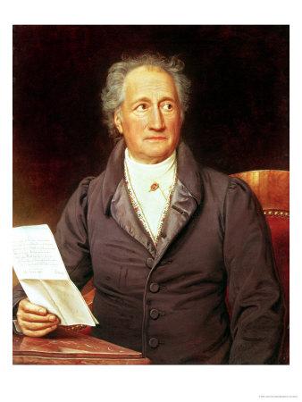 Johann Wolfgang Von Goethe ...