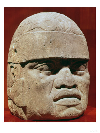 Colossal Head, Olmec