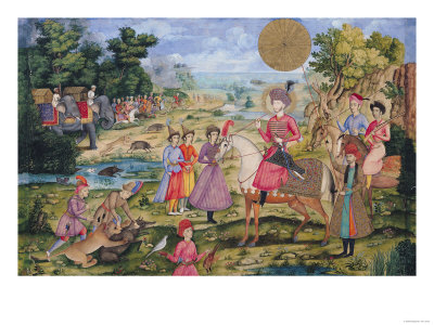 Royal Hunt, from Isfahan, Iran