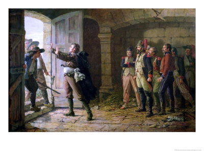 Maurice Gigost D'Elbee (1752-94) Protecting the New Prisoners at Chemille, April 1793 Giclee Print