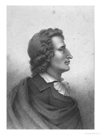 Friedrich Schiller (1759-1805) Engraved by Massol (D.1831)