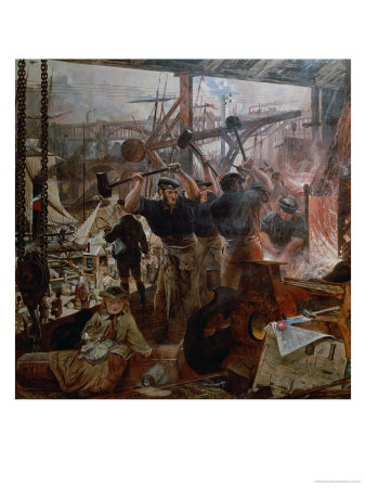 Industry of the Tyne: Iron and Coal, 1861