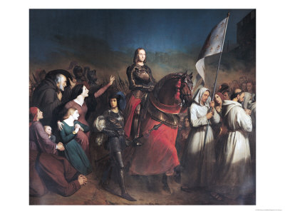 The Entry of Joan of Arc (1412-31) into Orleans, 8th May 1429, 1843