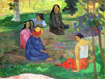 Les Parau Parau (The Gossipers), or Conversation, 1891