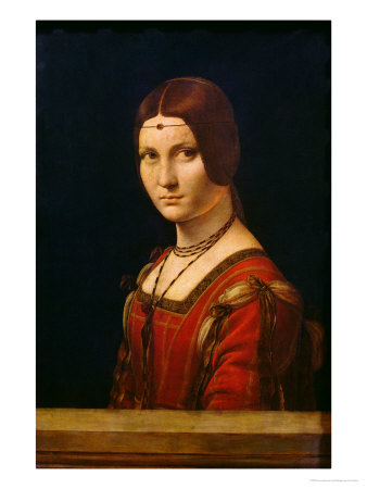 Portrait of a Lady from the Court of Milan, circa 1490-95