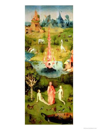 Hieronymus Bosch, adam eve, eden