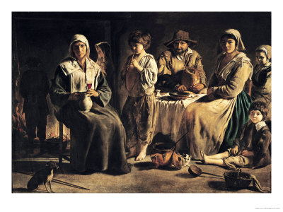 Peasant Family in an Interior, circa 1643