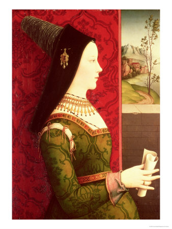 Mary of Burgundy (1457-82) Daughter of Charles the Bold, Duke of Burgundy (1433-77)