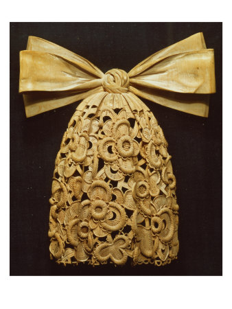 Woodcarving of a Cravat, by Grinling Gibbons (1648-1721)