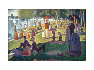 Sunday Afternoon on the Island of La Grande Jatte, c.1886 Posters