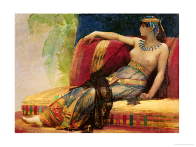 "Cleopatra (69-30 BC), Preparatory Study for ""Cleopatra Testing Poisons on the Condemned Prisoners"""
