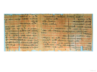 The Chester Beatty Medical Papyrus, New Kingdom, circa 1200 BC (Papyrus)