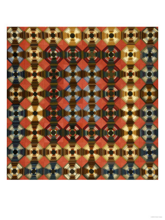 A Pieced Cotton and Flannel Coverlet, Pennsylvania, circa 1900