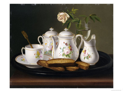 Still Life of Porcelain and Biscuits, 1872