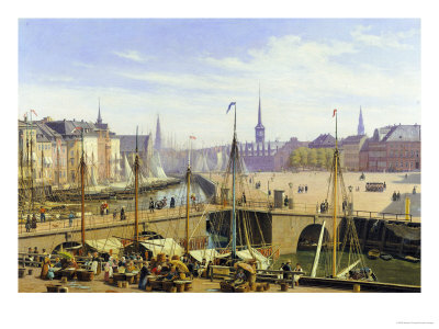 A View of Copenhagen Towards the ...