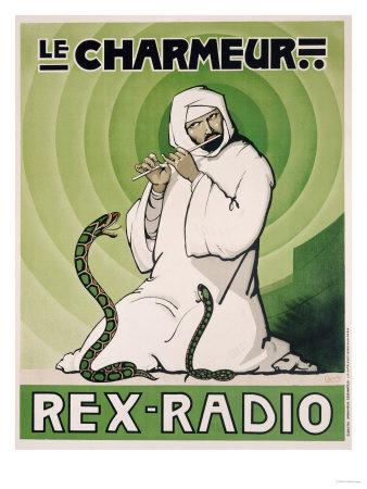 Le Charmeur, Rex-Radio, circa 1930