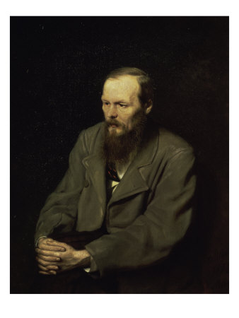 Portrait of the Fyodor Dostojevsky