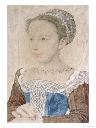 Marguerite De France Known as La Reine Margot, circa 1560