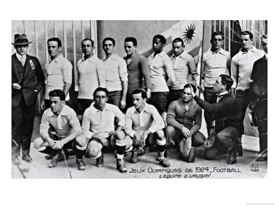 Buy The Uruguay Football Team at the Paris Olympic Games, 1924 at AllPosters.com