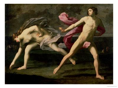 Atalanta and Hippomenes, circa 1612