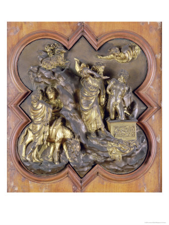The Sacrifice of Isaac, Bronze Competition Relief for the Baptistry Doors, Florence, 1401