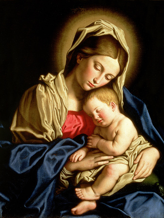 Madonna and Child Posters