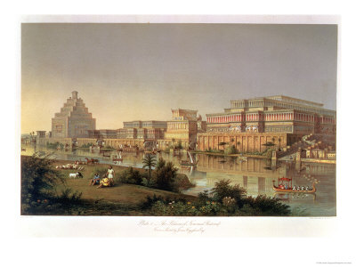 The Palaces of Nimrud Restored, a Reconstruction of the Palaces Built by Ashurbanipal