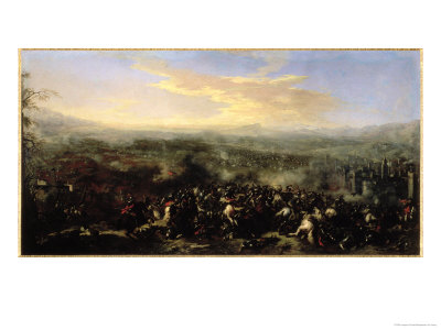 The Battle of Nordlingen in 1634