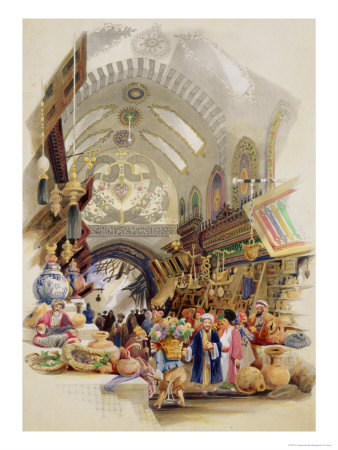 The Missr Tcharsky, or Egyptian Market, in Constantinople Giclee Print