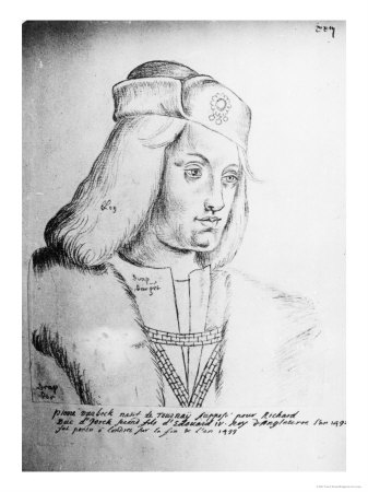 Portrait of Perkin Warbeck Flemish Imposter and Pretender to the English Throne