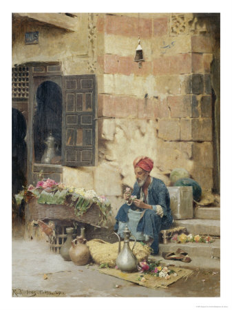 The Flower Seller, 1891