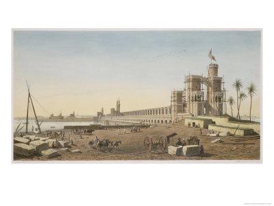 Building of the Aswan Dam.