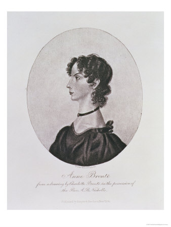 Portrait of Anne Bronte from a Drawing in the Possession of the Rev. A. B. Nicholls