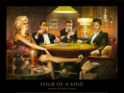Four of a Kind Posters
